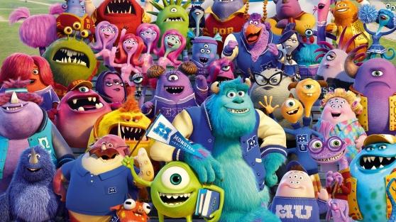 Monsters University (Dan Scanlon, 2013)