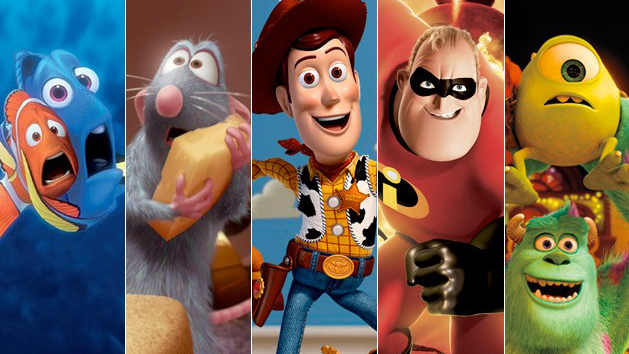 Every Pixar Film Ranked (by YOU!)