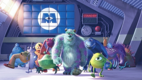 Monsters Inc. (Pete Docter, Lee Unkrich, David Silverman, 2001)