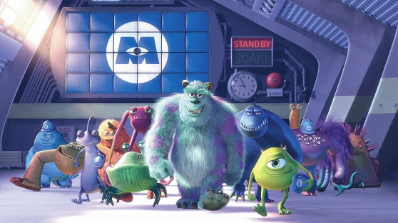 Monsters Inc. (Pete Docter, Lee Unkrich, David Silverman, 2001)