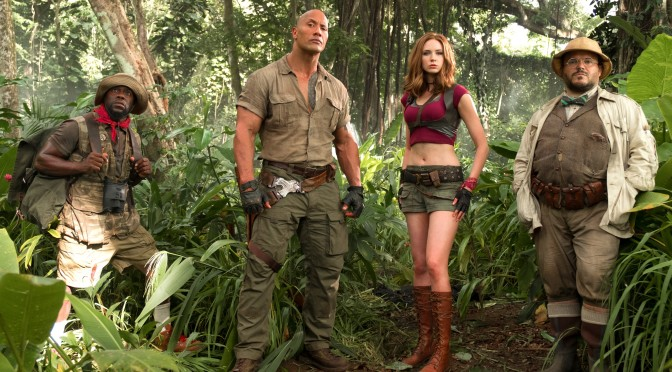 'Welcome to the Jungle' – check out the new Jumanji trailer!