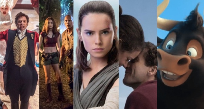 December 2017: All the biggest films coming your way!