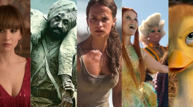March 2018: All the films coming your way!