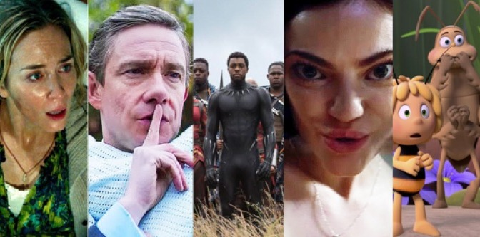 April 2018: All the films coming your way!