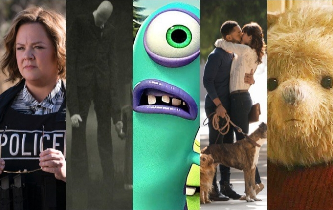 August 2018: All the films coming your way!