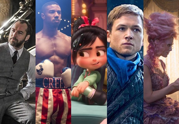 November 2018: All the films coming your way!