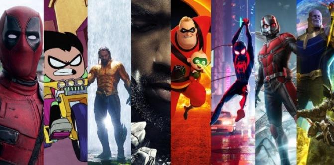 VOTE: Which was the best superhero film in 2018?