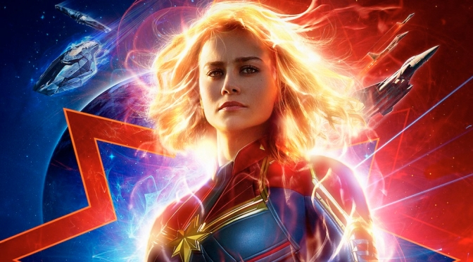Check out the fierce new trailer for Captain Marvel